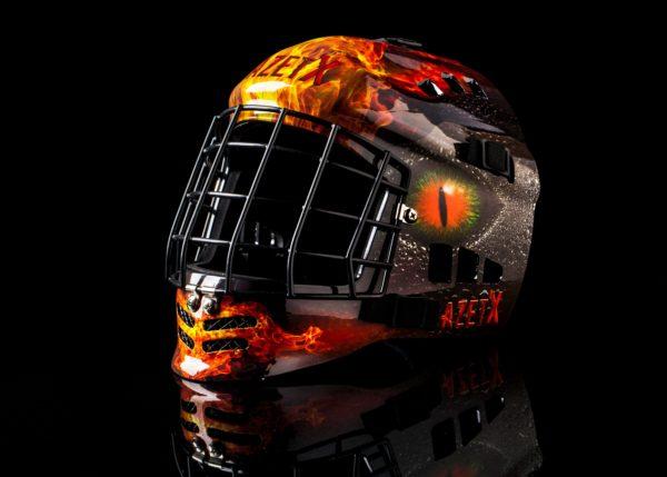 Azetx Flame Helmet 2017