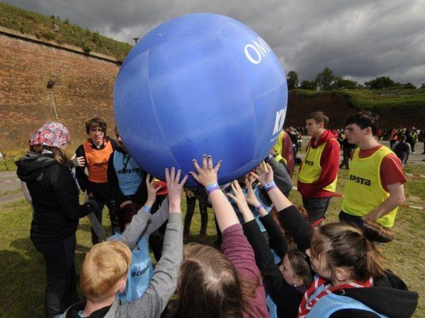 Piłka Kin-Ball 102cm Outdoor