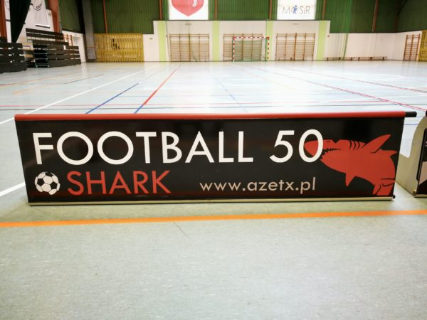 Banda do piłki nożnej 2m - Azetx Football50 Shark